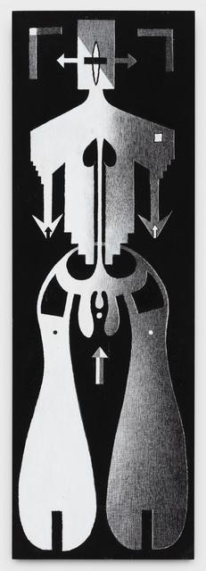, 'Human Logo #4,' 1992, P.P.O.W