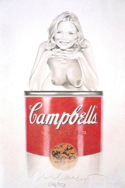 Mel Ramos, 'Suzy Soup', 2010, Puccio Fine Art