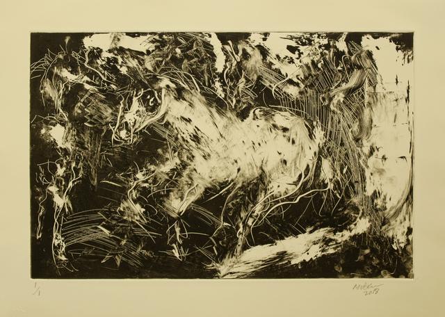 Raoul Middleman, 'Piebald', 2018, C. Grimaldis Gallery