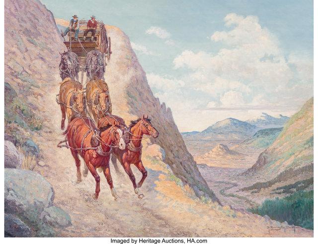 Robert Farrington Elwell, 'The Link That Closed The Gap Between East and West', Heritage Auctions