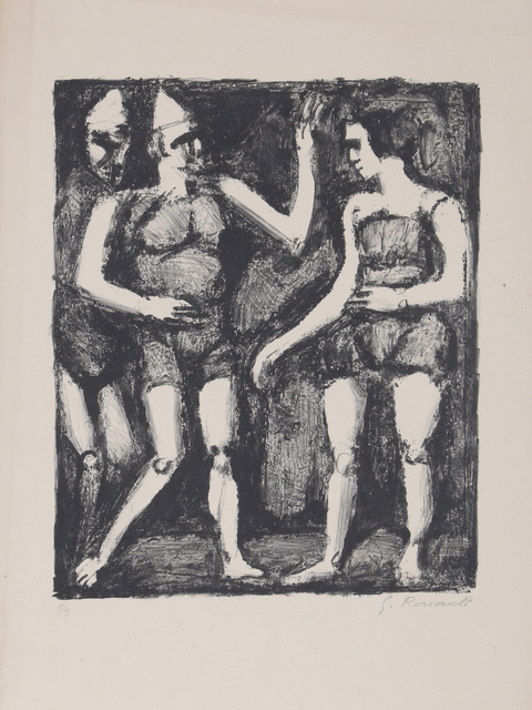 Georges Rouault, 'La Parade', ca. 1925, RoGallery
