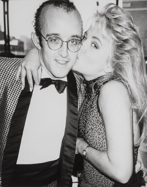 Andy Warhol, 'Keith Haring and Cornelia Guest', 1985, Heritage Auctions