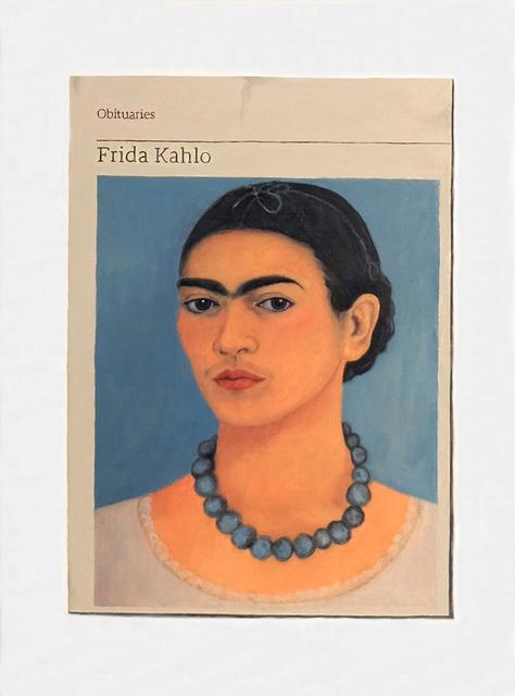, 'Obituary: Frida Kahlo ,' 2018, Charlie Smith London