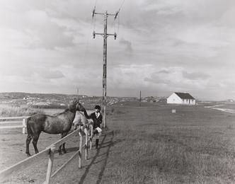 Sinead With Connemara Ponies; Galoway, Ireland