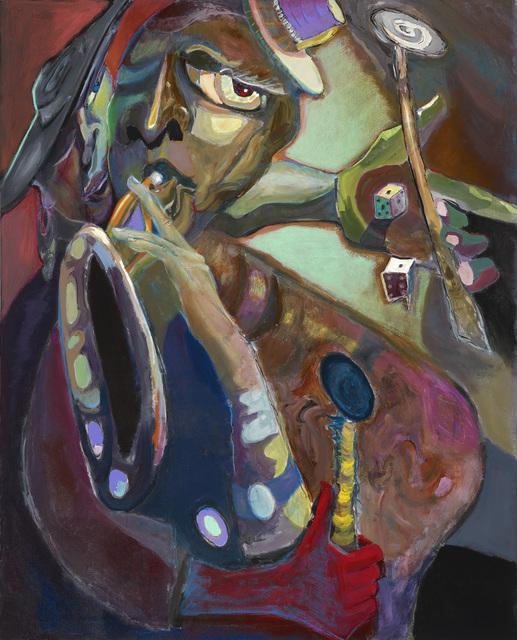 , 'Tossin' Dem Bones,' 2016, Walter Wickiser Gallery