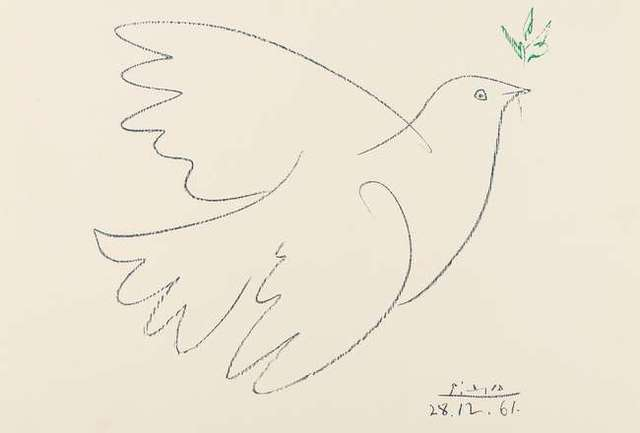 Pablo Picasso, 'La Colombe De La Paix', 1961, Hidden