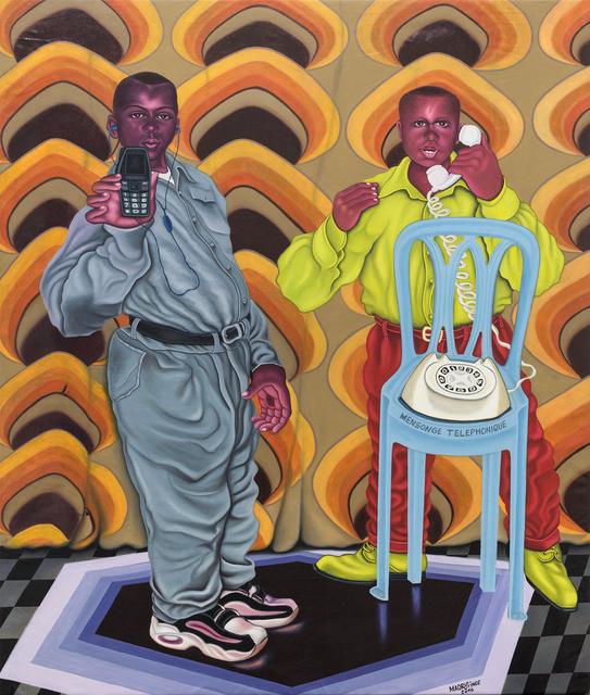 , 'Mensonge téléphonique,' 2016, Africa Bomoko