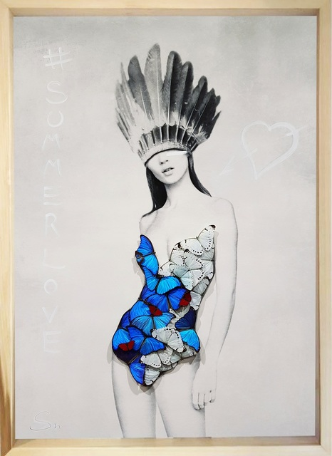 SN, 'Kate Summer Love Indian', 2019, Eden Fine Art