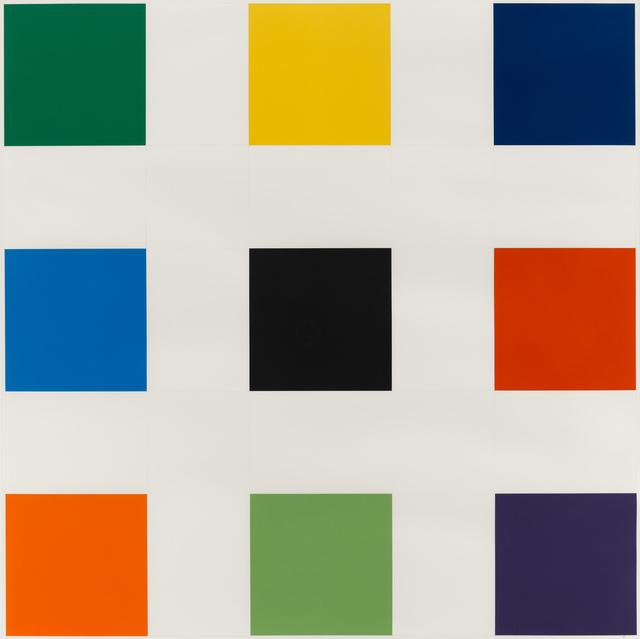 , 'Nine Squares,' 1976-1977, Susan Sheehan Gallery