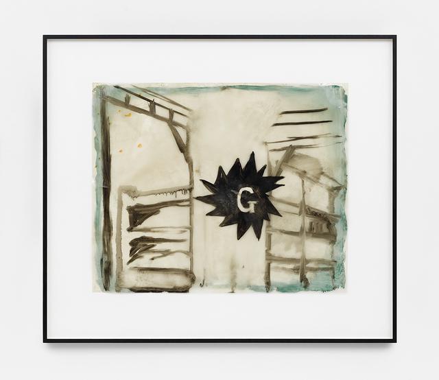 , 'Block G,' 1986, David Zwirner
