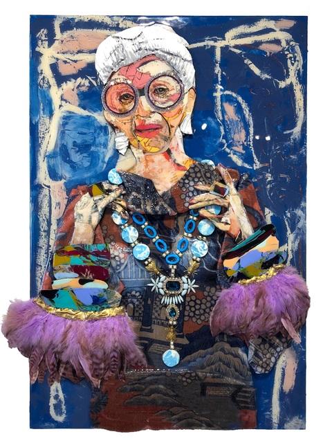 Miles Purvis, 'Iris', 2018, Miller Gallery Charleston