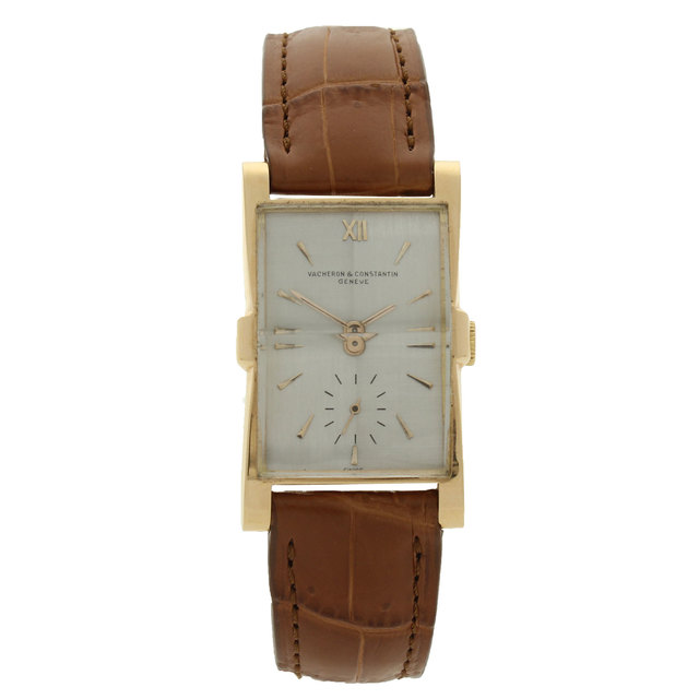 , '18ct rose gold Tegola wristwatch.,' ca. 1950, Somlo London