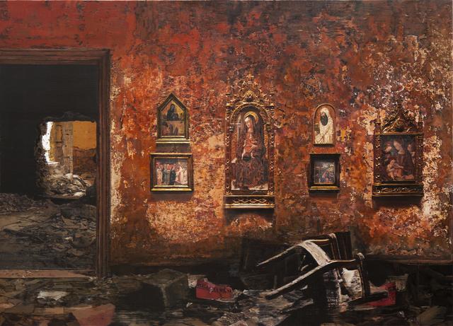 , 'Museum IV,' 2014, Edouard Malingue Gallery