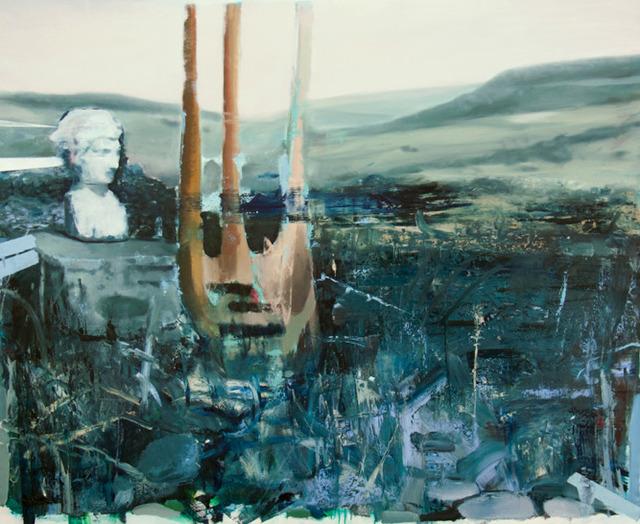 , 'Blue Garden,' 2014, NUNU FINE ART