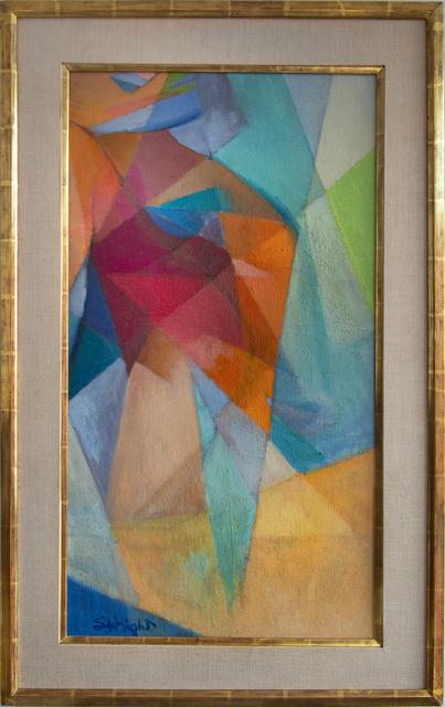 Stanton MacDonald-Wright, 'Synchromy', 1953-1956, Painting, Oil on canvas to masonite, Robert Funk Fine Art
