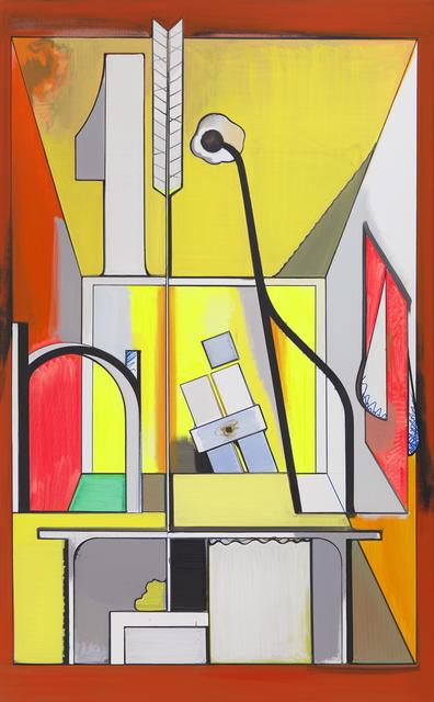 Thomas Scheibitz, 'Studio Imaginaire', 2014, Tanya Bonakdar Gallery