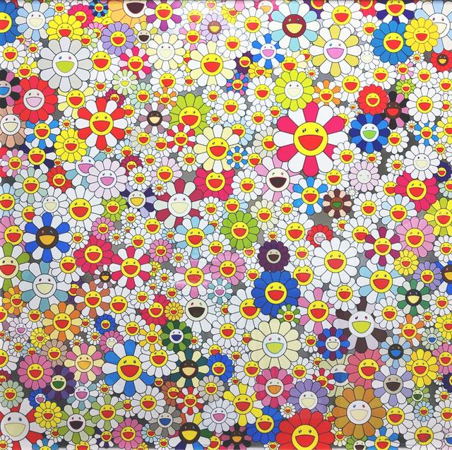 Takashi Murakami, 'Field of Smiling Flowers ', 2010, Hang-Up Gallery