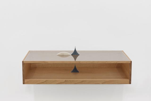 Felipe Cohen, 'Poente #2', 2019, Sculpture, Wood, glass and marble |, Kubik Gallery