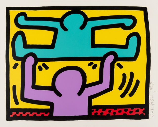 Keith Haring, 'Pop Shop I (see Littmann p.83)', 1987, Forum Auctions