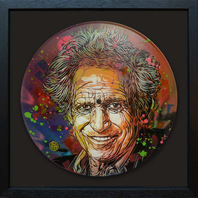 , 'Keith Richards,' 2017, StolenSpace Gallery
