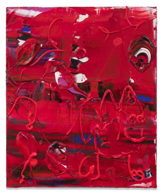 , 'Red Dude,' 2018, Miles McEnery Gallery