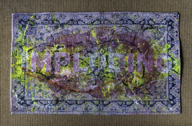 Holger Schmidhuber, 'Imploding (Carpets of the Forgotten)', 2019, Simard Bilodeau Contemporary