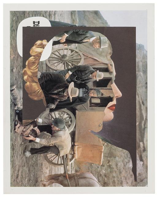 , 'Profile,' 2001, Monica De Cardenas