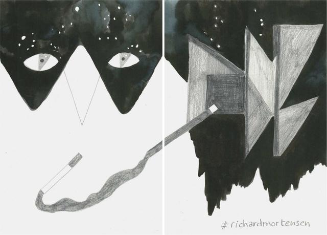 , 'La noche es nuestra (#richardmortensen),' 2018, Estrany - De La Mota