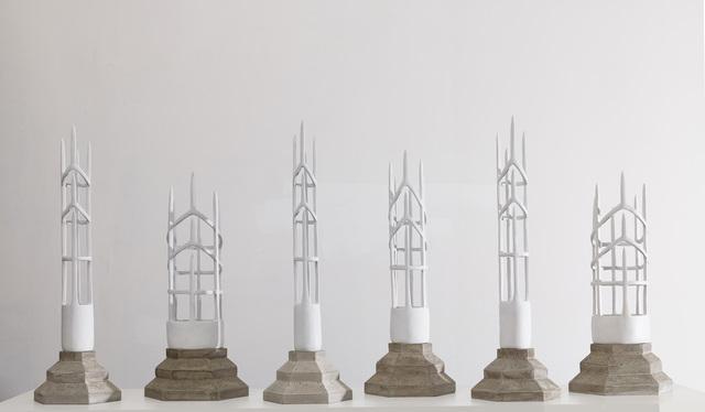 , 'Crowns I, II, III, IV, V, VI,' 2014, Leila Heller Gallery