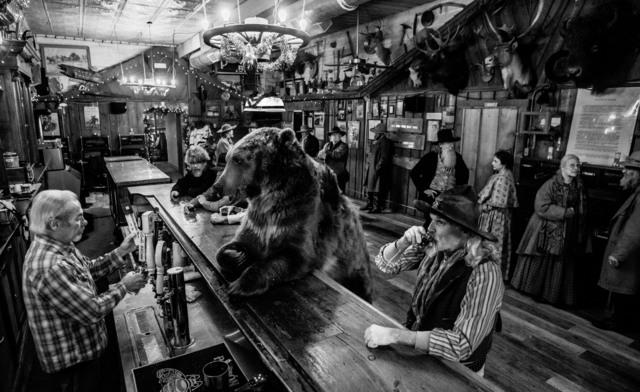 David Yarrow, 'Bear Walks into a Bar', ca. 2016, Isabella Garrucho Fine Art
