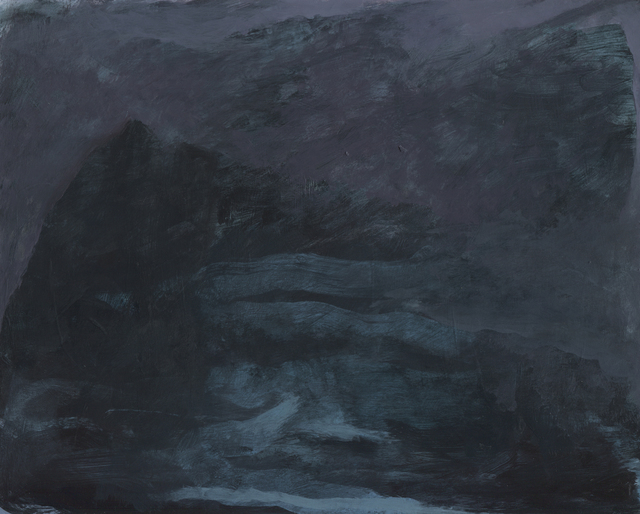 Bradley Butler, 'Nothing But Darkness on the Horizon', 2019, Painting, Acrylic on panel, The Painting Center