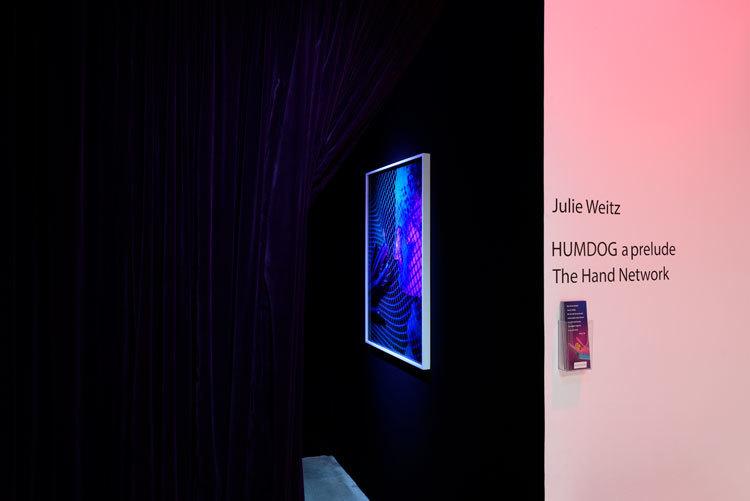 Julie Weitz, 'The Hand Network: Humdog, a prelude', installation view, Chimento Contemporary. Photo: Ruben Diaz