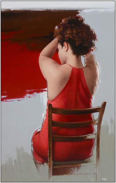 , 'Lady in Red,' 2017, Dan Gallery