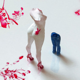 , 'Blue Jean Blues-Play Boy,' 2012, Sundaram Tagore Gallery
