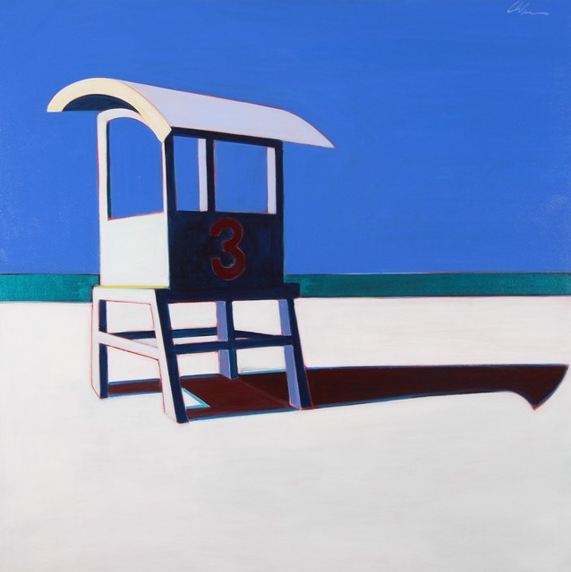 , 'Life Guard Station,' 2017, Caldwell Snyder Gallery