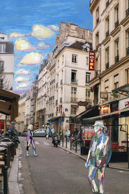, 'Parisian Daydream #2,' 2018, Steidel Contemporary