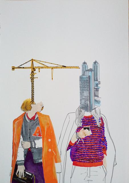 , 'Untitled,' 2014, Merkur