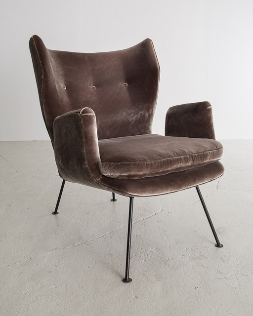 , 'Upholstered Armchair with Iron Frame,' ca. 1955, R & Company