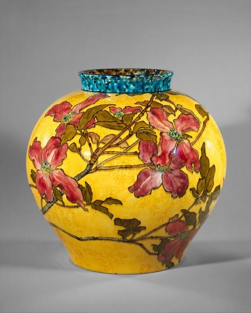 John Bennett, 'Vase', 1882, The Metropolitan Museum of Art