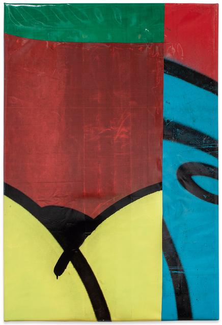 Moses & Taps™, 'FLICKWERKTM XVI', 2020, Painting, Spray Paint on PVC (freight wagon tarpaulin), KOLLY GALLERY