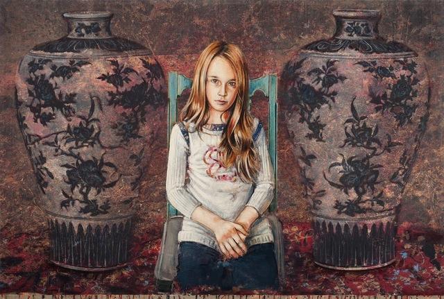 """, 'Les portes qui ferment nos histoires"""",' 2015, Loch Gallery"""