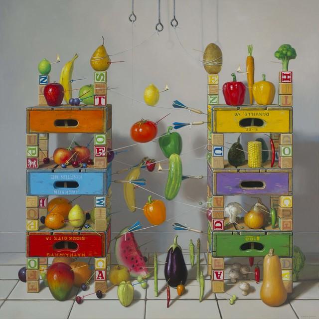 , 'Fruits vs Vegetables,' 2017, Gallery Henoch