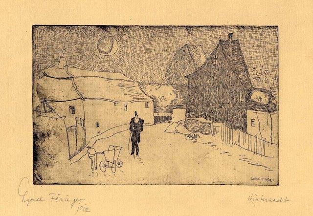 , 'Winternacht (Winter night),' 1916/1917, Moeller Fine Art