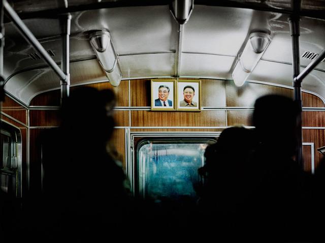 , 'Carriage (Metro Pyongyang),' 2014, The Ravestijn Gallery