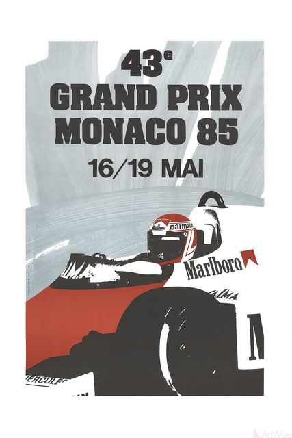 , 'Monaco Grand Prix 1985,' 1991, ArtWise
