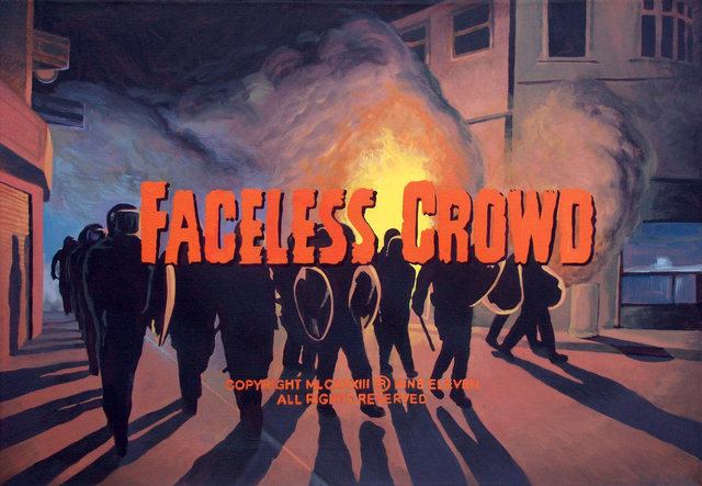 , ' FACELESS CROWD ,' 2016, EL MIRADOR ESPACIO
