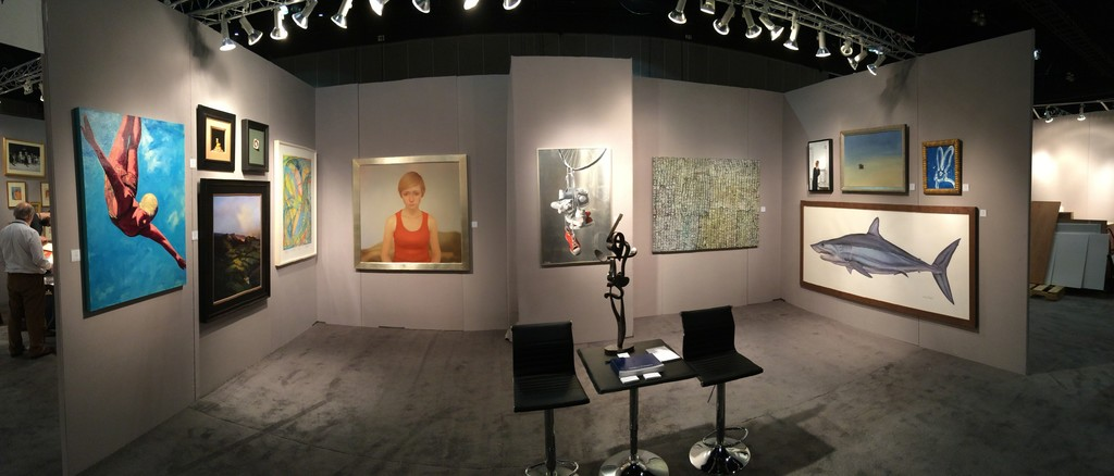 Quidley & Company at the 2015 LA Art Show