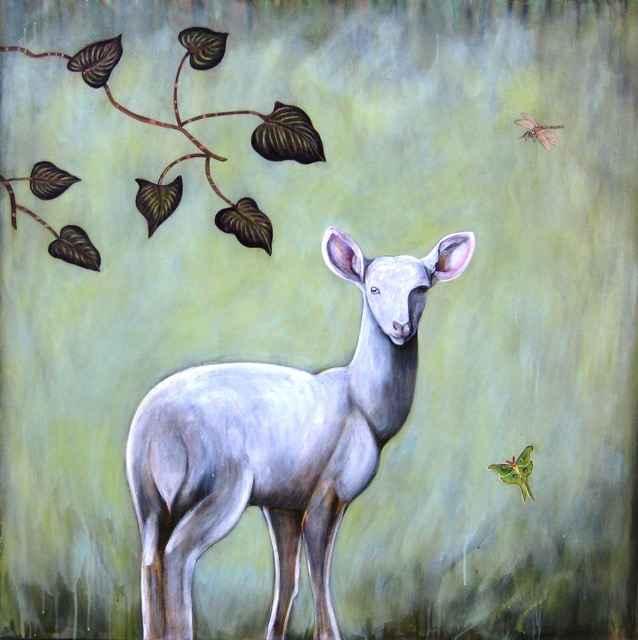 , 'Startled Deer,' , Sorrel Sky Gallery