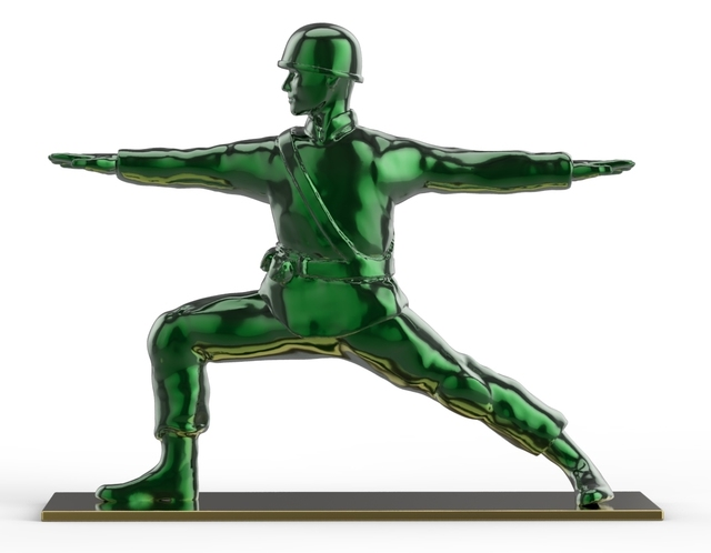 , 'War and Peace Series: Warrior 2 Pose,' 2018, Contessa Gallery