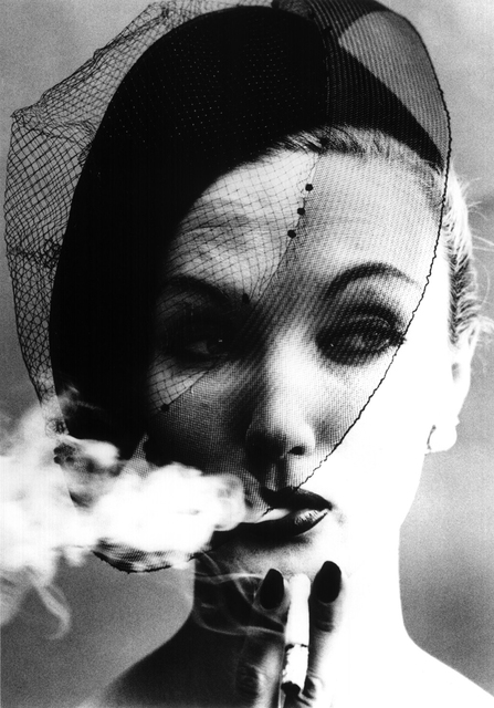 , 'Smoke + Veil, Paris (Vogue),' 1958, Atlas Gallery